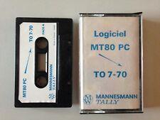 THOMSON TO7 LOGICIEL MT80 PC