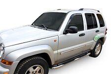 SB319 Jeep Cherokee 2001-2006 Side bars CHROME stainless steel side steps
