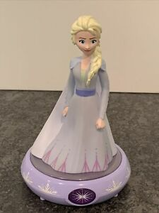 Disney Frozen Elsa Figure Night Light Auto Shut-Off Child-Safe LED Lite WORKS