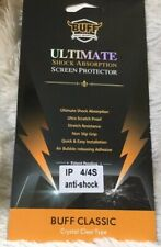BUFF Ultimate Shock Absorption iPhone Screen Protector iPhone 4/4S