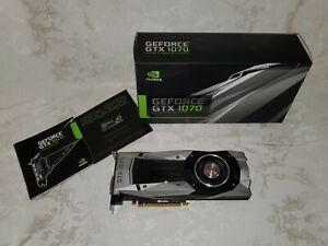 NVIDIA GeForce GTX 1070 Founders Edition 8GB GDDR5 PCI Express Graphics Card