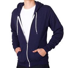 American apparel flex hoodie navy m 2010
