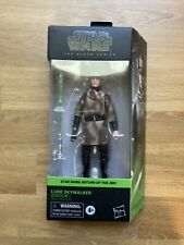 "LUKE SKYWALKER JEDI ENDOR PONCHO #04 ROTJ Black Series 6"" Figure Star Wars 2020"