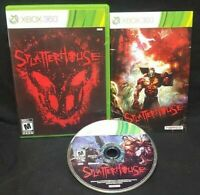 Splatterhouse - XBOX 360 Game 1 Owner Mint Disc COMPLETE Horror Namco