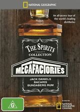 National Geographic - Megafactories - Spirits Collection, The - DVD Region 4