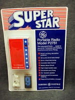 Vintage GE Transistor Radio Super Star Patriotic Portable Sealed Unused