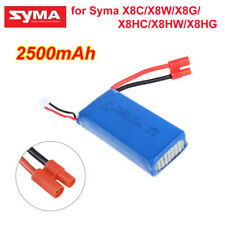 2S 7.4V 2500mAh Rechargeable 25C Lipo Battery Fr Syma X8C X8W X8G X8HC X8HW X8HG