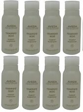 Aveda Rosemary Mint Shampoo lot of 8 each 1oz Bottles. Total of 8oz