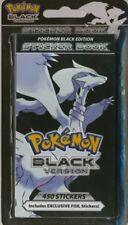 Pokemon Mini Sticker Book - Black Edition