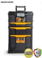 Rolling Tool Box Mobile Case Cart Chest Storage Wheels Drawer Bin Ball Bearing
