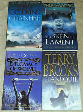 Joblot 4 Fantasy books CHRIS WOODING, TERRY BROOKS, HOLLY LISLE, TERRY GOODKIND