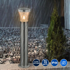 Modern Stainless Steel Garden Bollard Lamp Post Outdoor Pathway Light ZLC310