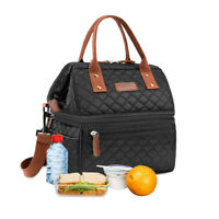 Thermal Cooler Lunch Bag Women Insulated Tote Large Capacity Lunch Box Bag Adult