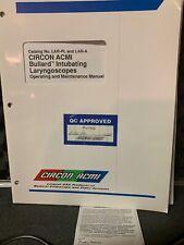 CIRCON ACMI LARS-A Elite BULLARD Laryngoscope Surgical Instrument
