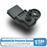 MAP SENSOR FOR FORD TRANSIT MK7 (2006-2014) 2.2 2.4 3.2 TDCi OEM: 6C119F479AB