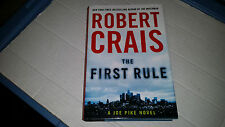 The First Rule by Robert Crais (2010, Hardcover) SIGNED 1st/1st