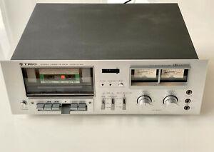 Trio/Kenwood KX-650 Vintage Cassette Deck (2) - SERVICED