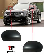 FOR NISSAN JUKE 2010 - 2014 NEW WING MIRROR COVER CAP PRIMED PAIR SET