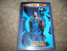 DOCTOR WHO VOLUME ONE FUGITIVE TPB Graphic Novel IDW Comic Book Tennant Tenth