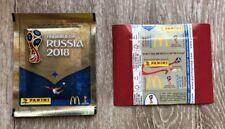 Panini WC Russia 2018 - Pochette Bustina Tüte Packet Mc Donald's Belgium Belge