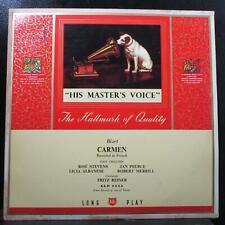 Reiner - Bizet: Carmen (French) 3 LP VG+ Mono His Master's Voice ALP 1115 UK