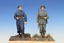 TB-35090 Swedish Tank Crewman & Infantry Soldier 1/35 resin kit - The Bodi