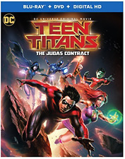 TEEN TITANS: THE JUDAS CONT...-TEEN TITANS: THE JUDAS CONTRACT (2PC) Blu-Ray NEW