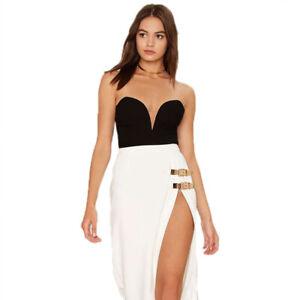 Women Velvet Strapless Backless Bodysuit Bodycon Rompers Plain Corset Underwear
