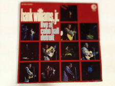 Hank Williams Jr Live At Cobo Hall Detroit EXc 1969 MGM Lable 12`` LP Record