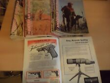 23 AMERICAN RIFLEMAN OLD VINTAGE 1950S SHOOTING HUNTING GUN RIFLE MAGAZINES LOT