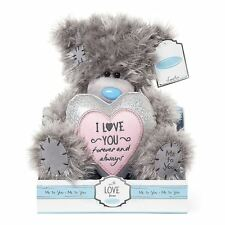 Me To You Tatty Teddy Bear Holding Heart in Gift Box I Love You Forever & Always