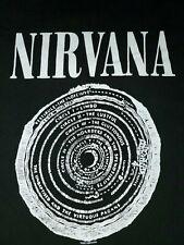 VTG NIRVANA T Shirt (c) 2003 VESTIBULE Dante's Circle Of Hell EXCELLENT COND Lrg