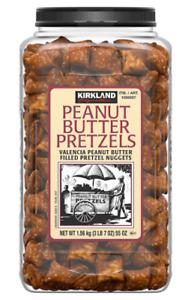 Kirkland Signature Peanut Butter Filled Pretzel Nuggets, 1.56kg