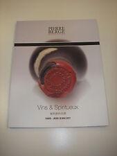 Catalogue vente VINS & SPIRITUEUX 18/05/17 Petrus ST Emilion Bordeaux Bourgogne