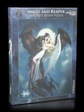 Fantasy Puzzle - Angel and the Reaper - James Ryman Engel Sensenmann 1000 Teile
