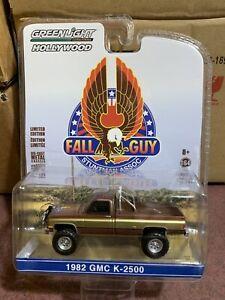 Greenlight 1:64 Hollywood 82' GMC K2500 Stuntman assoc. The Fall Guy