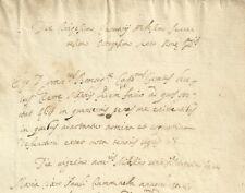 Manoscritto Certificato Morte Estrema Unzione e Confessione Menfi Agrigento 1686