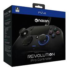 Ps4-Wired revolución pro pad #schwarz [Nacon] con embalaje original OVP dañado