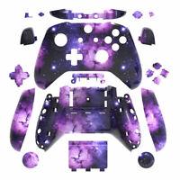 Galaxy Xbox One S X Controller Shell Case Mod Kit w/ Buttons Full Custom DIY