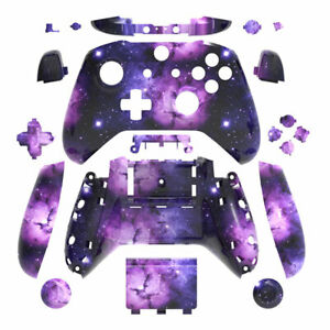 Milky Way Xbox One S X Controller Shell Case Buttons Mod Kit Full Custom Housing
