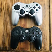 Pelican Predator PlayStation 2 Wireless Controllers (2) No Dongle/Receivers READ