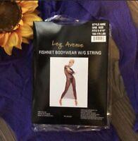 🍒Sexy Leg Avenue Purple Fishnet Body Stocking ONE SIZE FITS MOST