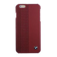 BMW FacePlate Custodia Rigida Rosso protettiva Iphone 6 PLUS 6S GE HA BISOGNO
