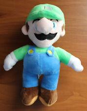 "New Super Mario Bros. Luigi 9"" Plush Doll Stuffed Animal Nintendo Toy"