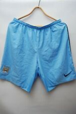 MANCHESTER CITY 2014 HOME SHORTS PLAYER ISSUE NIKE FOOTBALL  SOCCER  SIZE XL