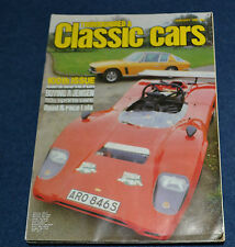 Thoroughbred & Classic Cars January 1982 buying a Jensen Interceptor, Vale