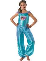 New Disney Princess Loveheart Girls Jasmine Fancy Dress Costume Outfit Aladdin