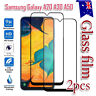 2X Samsung Galaxy A20 A30 A50 A70 Full Coverage Tempered Glass Screen Protector