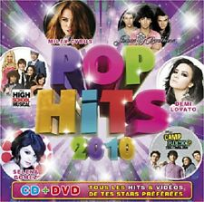 "IZ723 CD+DVD ""POP HITS 2010"" Disney Music, avec Hannah Montana, Miley Cyrus etc."