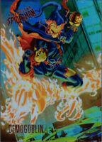 2017 Ultra Spider-Man Rainbow Foil Achievement Exclusive Card #53 Demogoblin